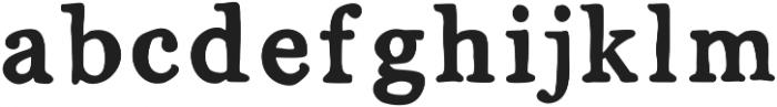 MixSerif ttf (400) Font LOWERCASE