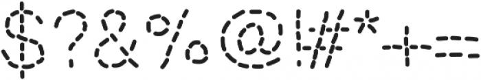 MixStitch ttf (400) Font OTHER CHARS