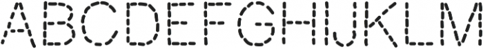 MixStitch ttf (400) Font UPPERCASE