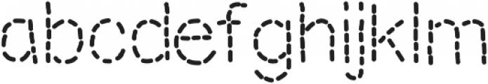 MixStitch ttf (400) Font LOWERCASE