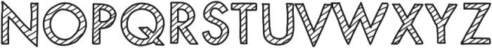 MixStriped ttf (400) Font UPPERCASE