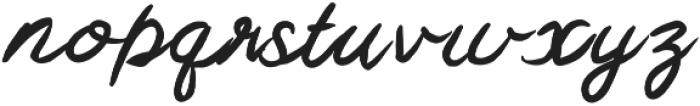 MixSwift ttf (400) Font LOWERCASE