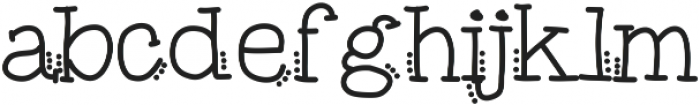 MixTagged ttf (400) Font LOWERCASE
