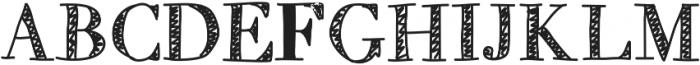MixTitanica ttf (400) Font UPPERCASE