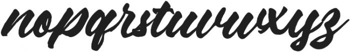 Mixing otf (400) Font LOWERCASE