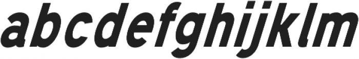 Mixolydian Bold Italic otf (700) Font LOWERCASE