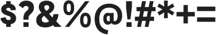 Mixolydian Bold otf (700) Font OTHER CHARS