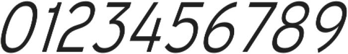 Mixolydian Light Italic otf (300) Font OTHER CHARS