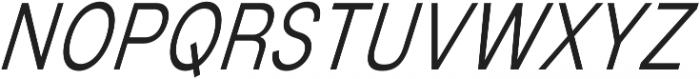 Mixolydian Light Italic otf (300) Font UPPERCASE