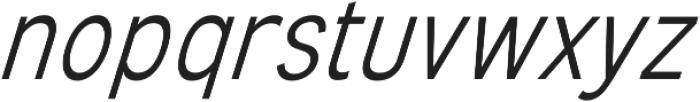 Mixolydian Light Italic otf (300) Font LOWERCASE