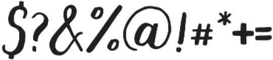 mishelle script otf (400) Font OTHER CHARS
