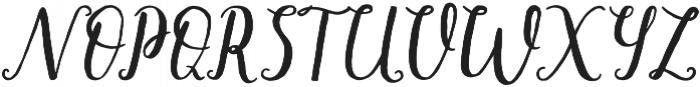 mishelle script otf (400) Font UPPERCASE
