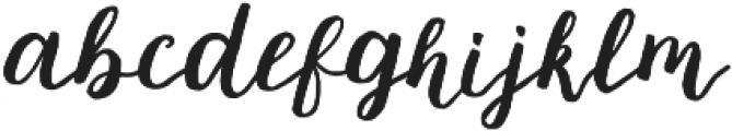 mishelle script otf (400) Font LOWERCASE
