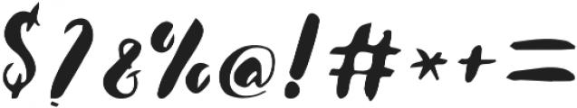 misledyouth otf (400) Font OTHER CHARS