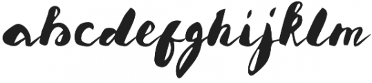 misledyouth otf (400) Font LOWERCASE