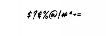 Mickator Alternate.ttf Font OTHER CHARS