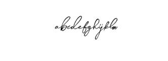 Midnight-Regular.otf Font LOWERCASE