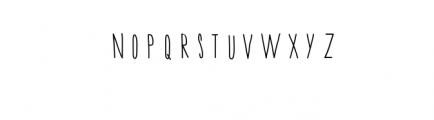 Mile Hand-Drawn Font Font UPPERCASE