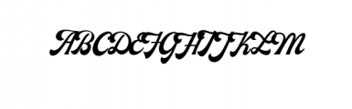 Milestone-Script.otf Font UPPERCASE