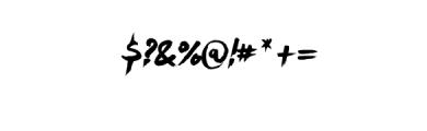 Milestone.ttf Font OTHER CHARS