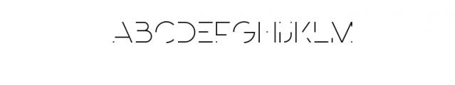 Minimalica Font UPPERCASE