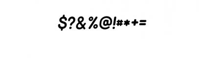 Minimalust Regular Italic.ttf Font OTHER CHARS