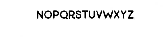 Minimalust Regular.otf Font LOWERCASE