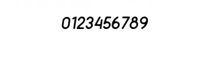 Minimalust Thin Italic.ttf Font OTHER CHARS