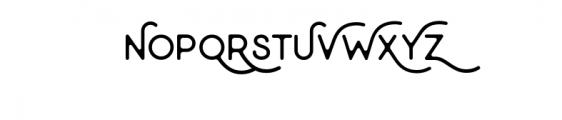 Minimalust Thin.otf Font UPPERCASE
