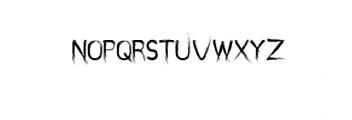 miztix.otf Font UPPERCASE
