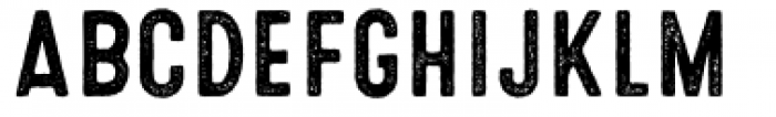 Microbrew Unicase Three Font UPPERCASE