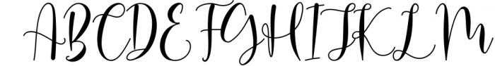 Michalina Script Font UPPERCASE
