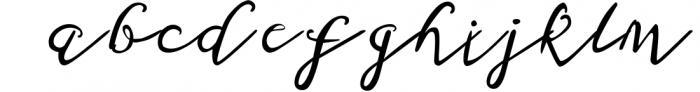 Milieux Font LOWERCASE
