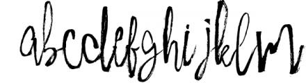 Milkshake and Extras Font LOWERCASE