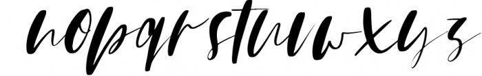 Mindfully Font Set Font LOWERCASE