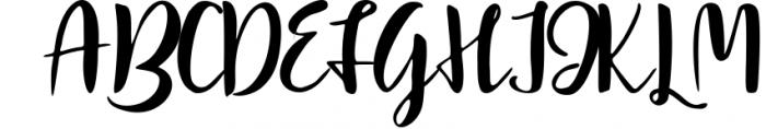 Mindfulness - handwritten font Font UPPERCASE