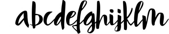 Mindfulness - handwritten font Font LOWERCASE