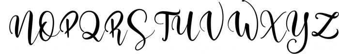 Mini Romance Bundle 5 Font UPPERCASE