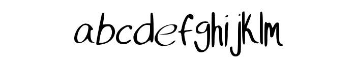 MIKEFont Font LOWERCASE