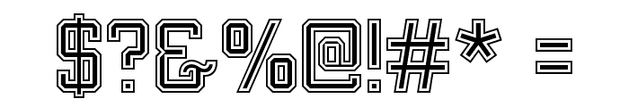 MIXIVA-COLLEGE Demo Font OTHER CHARS