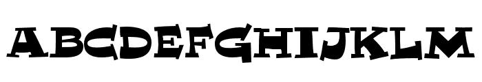 MiTica Font UPPERCASE