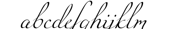Miama Font LOWERCASE