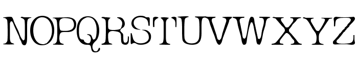 Micahels Plain Font UPPERCASE