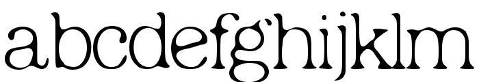 Micahels Plain Font LOWERCASE