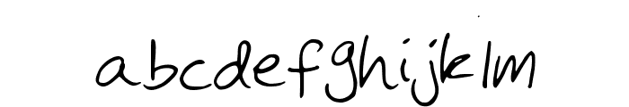 MichaelFont Font LOWERCASE