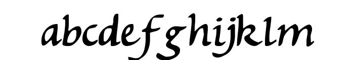 Michaelmas Font LOWERCASE