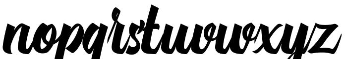 Michail Script  Regular Font LOWERCASE