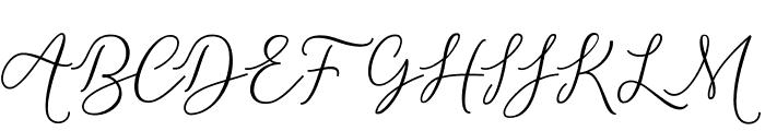 Michella Font UPPERCASE