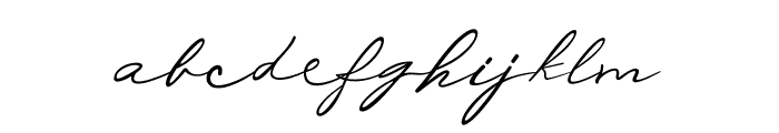 Michelle Fellicia Font LOWERCASE