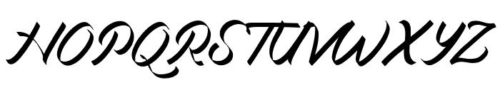 Miciana-Regular Font UPPERCASE